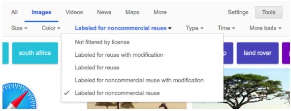 google filter