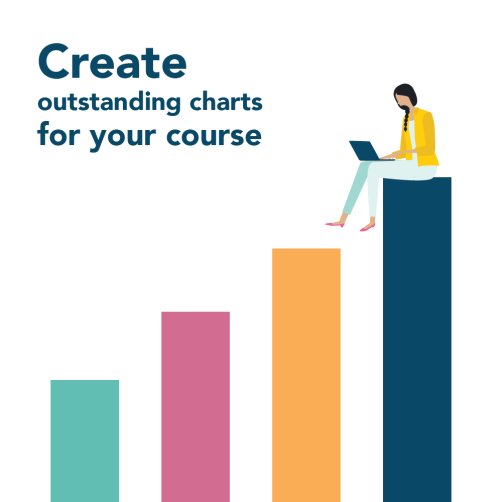Create outstanding charts for your course